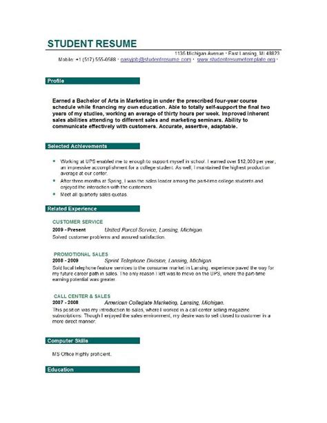 Objective Statement Resume For Graduate School by Customer Service Graduate Student Resume Objective Resume Sle For Fresh Graduate Resume