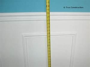 Moulure Bois Mur : wall trim construction and diy and crafts on pinterest ~ Zukunftsfamilie.com Idées de Décoration