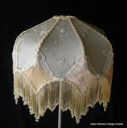 Victorian Beaded Lamps by Victorian Lampshades Vintage Custom Lamp Shades