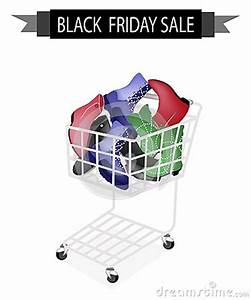Women Shoes In Black Friday Shopping Cart Stock Vector ...