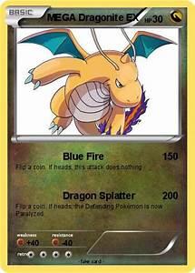 Pokémon MEGA Dragonite EX 8 8 - Blue Fire - My Pokemon Card