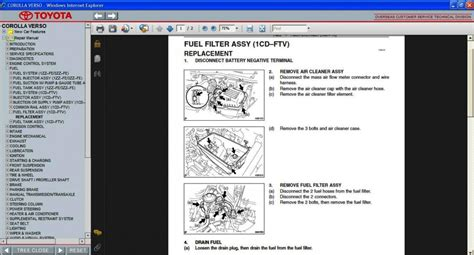 manual repair autos 2002 toyota corolla parental controls toyota corolla verso 2004 2009 service repair information manual