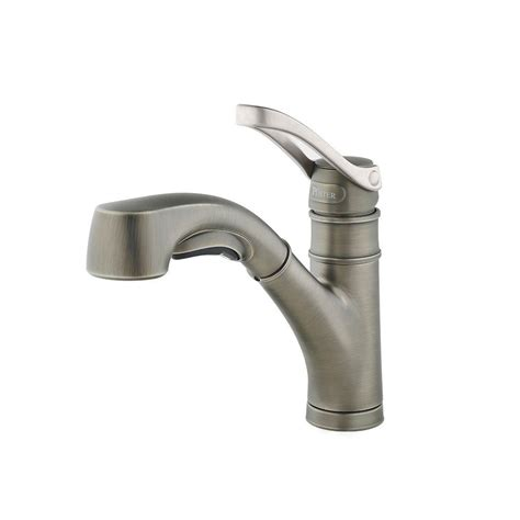 Faucet Sprayer by Pfister Prive Single Handle Pull Out Sprayer Kitchen