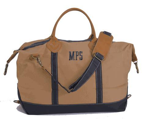 monogram large canvas duffel bag