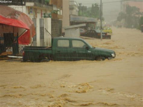 bureau de coordination des affaires humanitaires côte d ivoire inondations autour d abidjan et cas de