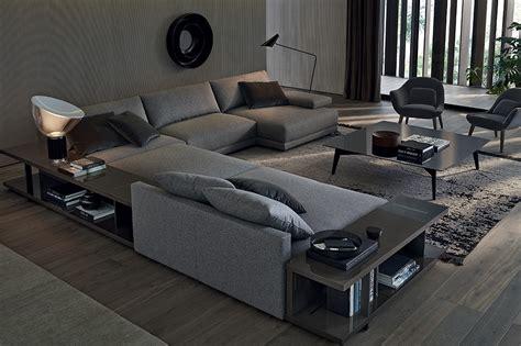 showroom canap le bristol de poliform le canapé des espaces