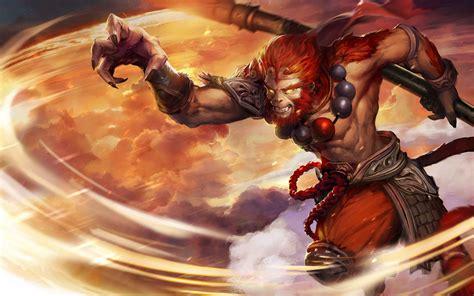 dota  video game phantom lancer monkey king sun wukong hd