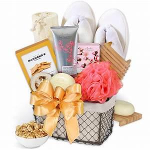 Spa Gift Basket for Women by GourmetGiftBaskets.com
