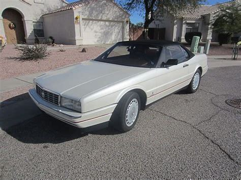 automobile air conditioning repair 1992 cadillac allante head up display sell used 1992 cadillac allante base convertible 2 door 4 5l in tucson arizona united states