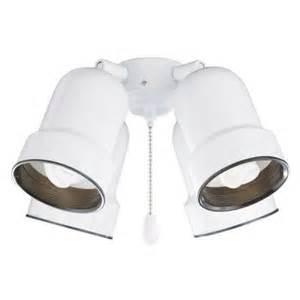 illumine zephyr 4 light appliance white ceiling fan light