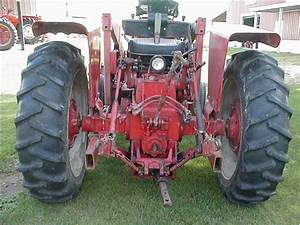 Farmall 656 Gas Tractor With Loader For Sale