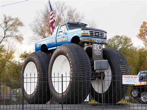 bigfoot monster truck history hazelwood d a r e cers saw world s first monster truck