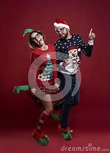 Christmas Couple Stock Photo - Image: 79283165