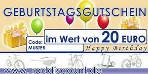 Gutschein Bild Shop : raddiscount geburtstags gutschein raddiscount online shop der fahrrad discounter in deutschland ~ Buech-reservation.com Haus und Dekorationen