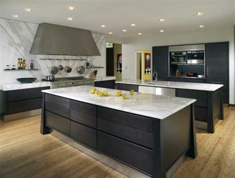 plan cuisine design plan de travail cuisine moderne en et bois