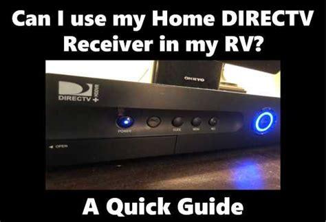 home directv receiver   rv  quick guide