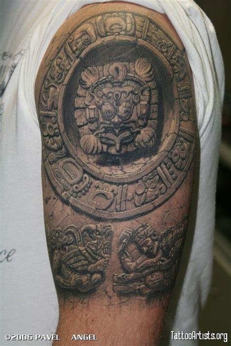 moscow tattoo artist pavel angels  mayan tattoo