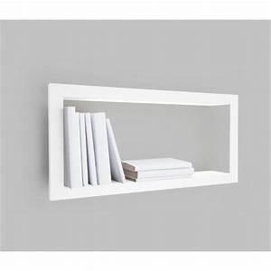 Etagere Cadre Photo : etag re murale cadre blanc largstick presse citron ~ Teatrodelosmanantiales.com Idées de Décoration