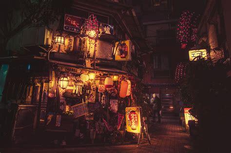stunning night photography  tokyos streets