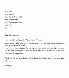 sample business cover letter 8 free documents in pdf word With free business cover letter