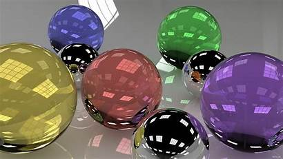 Shiny Objects Glass Balls Colored Distracted Easily