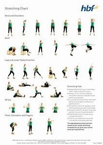 Stretching Routine Chart