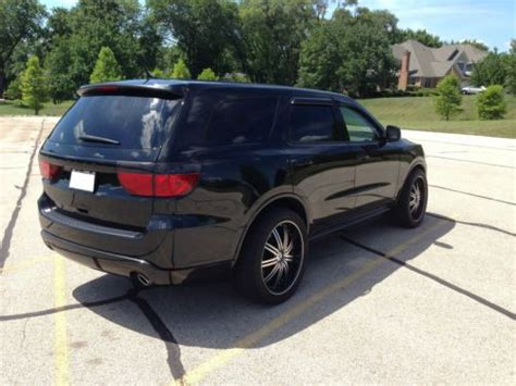 jeep durango blacked out sell used 2011 dodge durango heat head turner custom