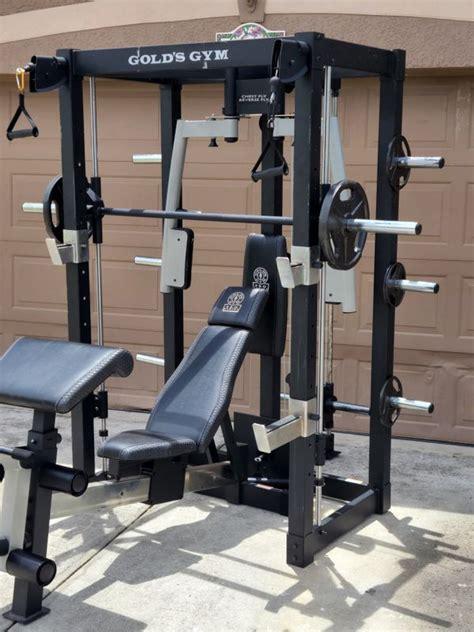 golds gym pro series smith machine  sale  wesley chapel fl offerup