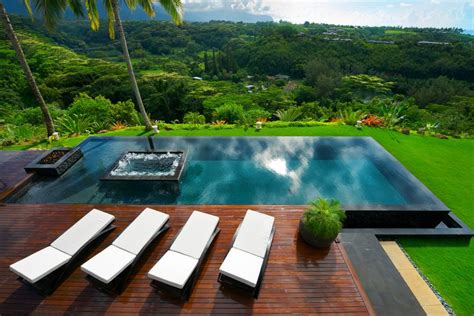 tropical waterfront estate  kilauea hawaii