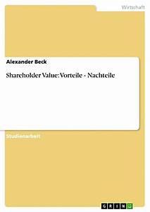 Gewächshaus Vorteile Nachteile : shareholder value vorteile nachteile ebook ~ Articles-book.com Haus und Dekorationen