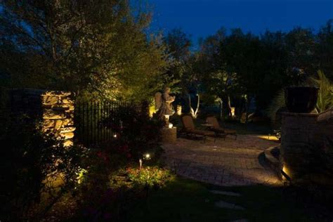 san antonio landscape lighting design led color