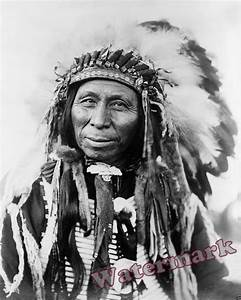 Photograph Vintage American Sioux Indian Black Thunder