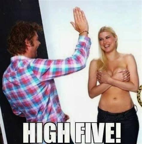 Meme High Five - high five meme