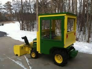 Homemade Garden Tractor Cabs