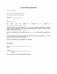 lawyer retainer agreement hashdoc With retainer fee agreement template