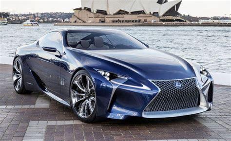 Lexus Lflc Blue Concept Lands In North America 2012 La