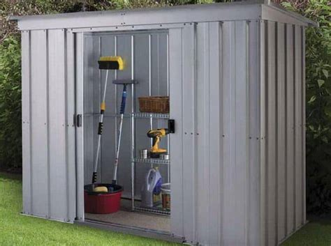 pent metal shed the yardmaster 104pz pent metal shed