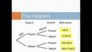 Tree Diagrams  U0026 Bayes Theorem