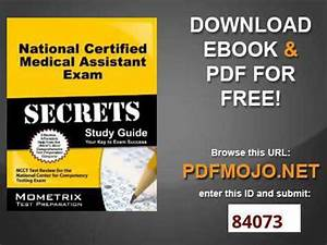 National Certified Medical Assistant Exam Secrets Study