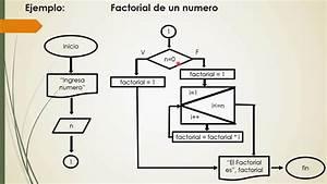 Diagrama De Flujo Factorial De Un N U00famero