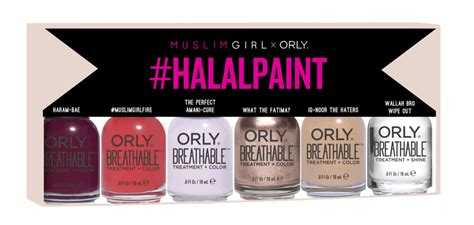 #halalpaint By Muslim Girl X Orly (6 Shade Kit) –