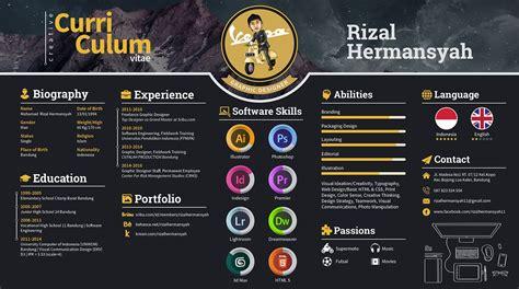 Curriculum Vitae Design Template by Creative Curriculum Vitae Resume Template Design For
