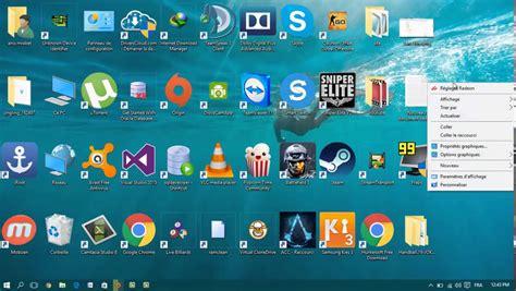 icones du bureau disparues comment ajuster la taille des icones du bureau sous windows 10 windows tricks my t3chnology