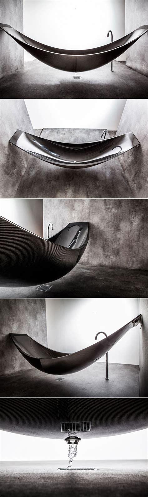 carbon fiber bathtub forget normal tubs the carbon fiber vessel hammock