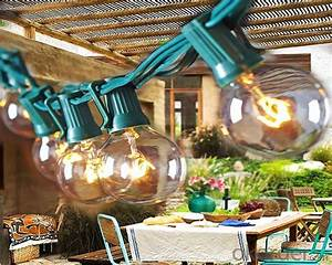 buy 25ct g40 globe patio string light power saved price With outdoor string lights brisbane
