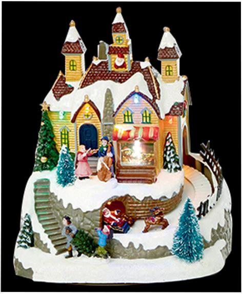 21cm musical animated scene xmas decoration christmas