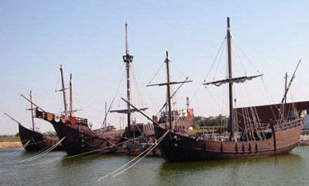 Barcos De Cristobal Colon Huelva by Las Carabelas De Col 243 N 1de3 Es