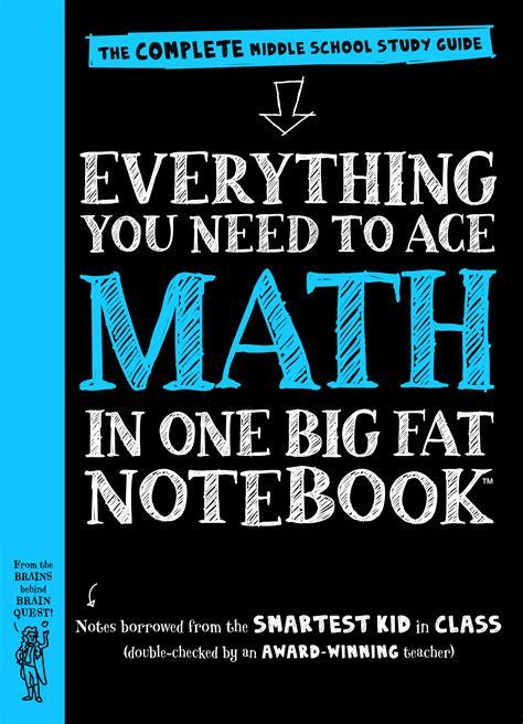 ace math   big fat notebook