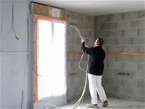 Isolation Mur Parpaing : rt isolation mur parpaing mur brique de type a u plancher bton planelle with rt isolation mur ~ Melissatoandfro.com Idées de Décoration