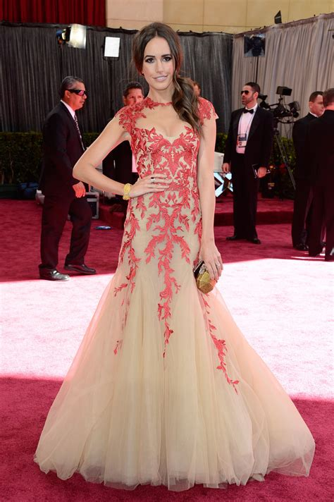 Best Oscar 2013 by Louise Roe Wore Lhuillier At The 2013 Oscars
